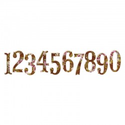 SIZZIX 658338 - NUMERI
