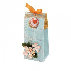 SIZZIX 658901 - BAG,TREAT WINDOWS & FLOWERS