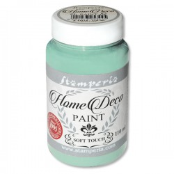 HOME DECOPAINT SOFT TOUCH WATER GREEN 110ml
