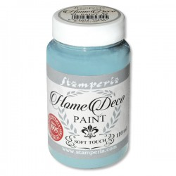 HOME DECOPAINT SOFT TOUCH DUSTY BLUE 110ml