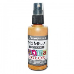 AQUACOLOR SPRAY GIALLO CALDO IRIDESCENTE 60ml