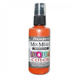 AQUACOLOR SPRAY ARANCIONE IRIDESCENTE 60ml