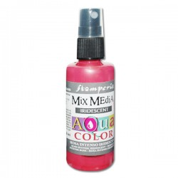 AQUACOLOR SPRAY ROSA INTENSO IRIDESCENTE 60ml