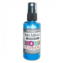 AQUACOLOR SPRAY AZZURRO IRIDESCENTE 60ml