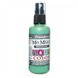 AQUACOLOR SPRAY ACQUAMARINA IRIDESCENTE 60ml