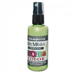 AQUACOLOR SPRAY VERDE CHIARO PERLATO 60ml