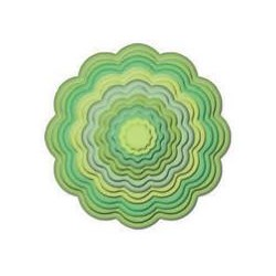 SPELLBINDERS 9454-791 - SCALLOPED CIRCLES -2-10,5CM - 7PZ