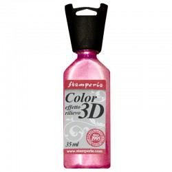 COLOR 3D 35 ML ROSA METALLIZZATO