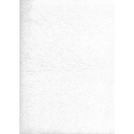 PANNOLENCI 30X40 CM SPESSORE 1MM BIANCO GLITTERATO