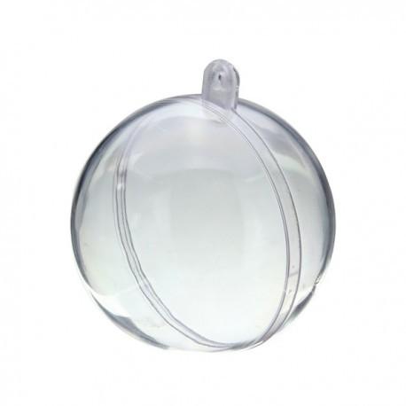 Sfera trasparente apribile 12 cm 1 pezzo