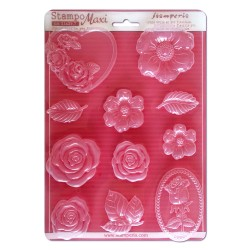 STAMPO PVC A4 - ROSE