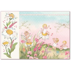 CARTA RISO 48 x 33 BABY GIRL - STAMPERIA