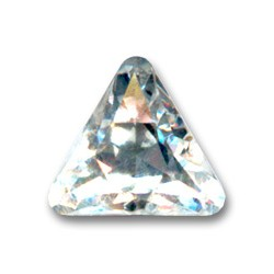 Triangolo Cabochone 4722  mm. 10 Crystal Foiled 2 pzz