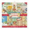 BLOCCO CARTE 10 FOGLI DOUBLE FACE PATCHWORK - 30.5 X 30.5 CM STAMPERIA