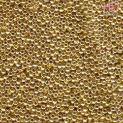 ROCAILLE 15/0 GALVANIZED GOLD -1052- 5gr - MIYUKI