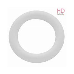 Anelli plastica bianchi 20mm - 10pz