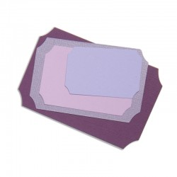 SIZZIX 657569 - ETICHETTE X 5