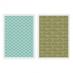 SIZZIX 659785 - SMILE E PICCOLE CROCI
