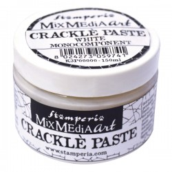 CRACKLE' PASTE MONOCOMPONENTE BIANCO 150ml