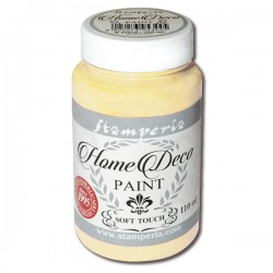 HOME DECOPAINT SOFT TOUCH PASTEL YELLOW 110ml