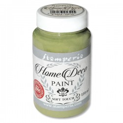 HOME DECOPAINT SOFT TOUCH OLIVE GREEN 110ml