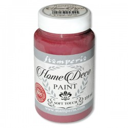 HOME DECOPAINT SOFT TOUCH BURGUNDY 110ml
