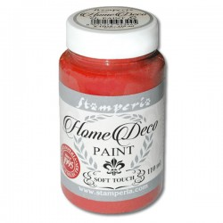 HOME DECOPAINT SOFT TOUCH WARMED RED 110ml