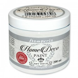 HOME DECOPAINT SOFT TOUCH WHITE 200ml