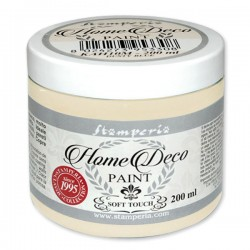 HOME DECOPAINT SOFT TOUCH WARM WHITE 200ml