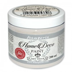 HOME DECOPAINT SOFT TOUCH PEARL GREY 200ml