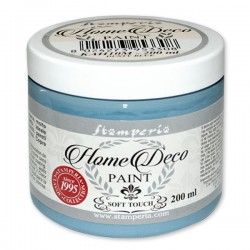 HOME DECOPAINT SOFT TOUCH DUSTY BLUE 200ml