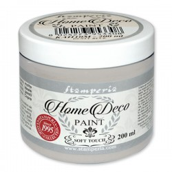 HOME DECOPAINT SOFT TOUCH CLASSIC GREY 200ml