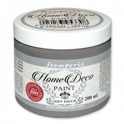 HOME DECOPAINT SOFT TOUCH SMOKE GREY 200ml