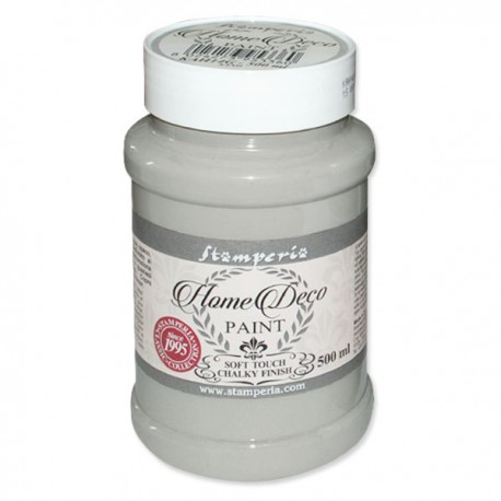 HOME DECOPAINT SOFT TOUCH CLASSIC GREY 500ml