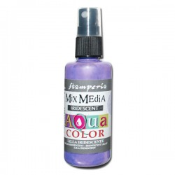 AQUACOLOR SPRAY LILLA IRIDESCENTE 60ml