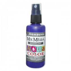 AQUACOLOR SPRAY VIOLA IRIDESCENTE 60ml