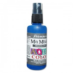 AQUACOLOR SPRAY BLU IRIDESCENTE 60ml