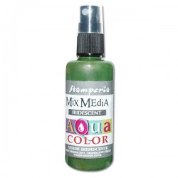 AQUACOLOR SPRAY VERDE IRIDESCENTE 60ml