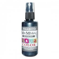 AQUACOLOR SPRAY ARGENTO IRIDESCENTE 60ml
