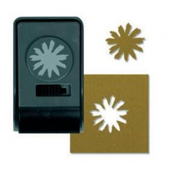 SIZZIX 660173 - PAPER PUNCH LARGE, DAISY FLOWER BY TIM HOLTZ, 3,5X2,5CM