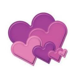 SPELLBINDERS 9454-921 - CLASSIC HEART - 2,5-11CM - 6PZ