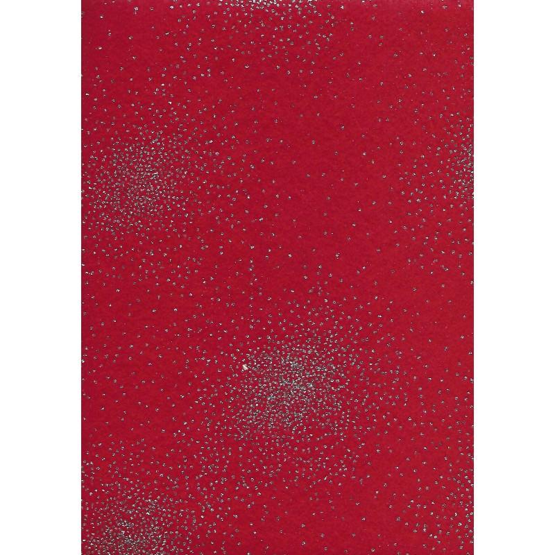 Pannolenci 30x40cm Spessore 1mm Rosso Strass Hobbydecorazionicom