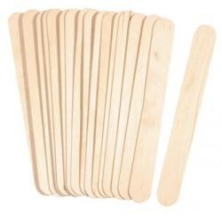 Spatole di legno grezzo 11cm  72pzz