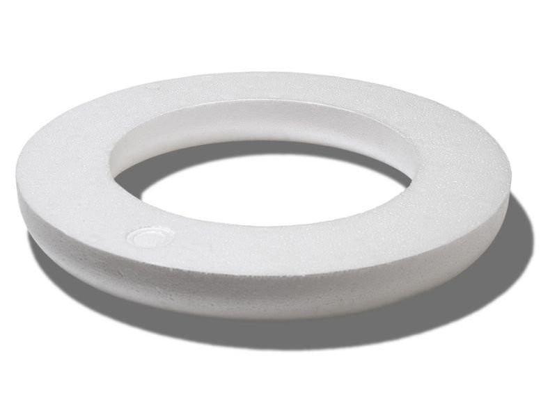comprare bene imbattuto x sito autorizzato Anello piatto di polistirolo 30cm 1 pezzo - Hobbydecorazioni.com