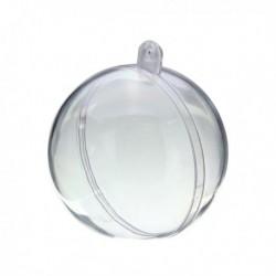 Sfera trasparente apribile 10 cm 1 pezzo