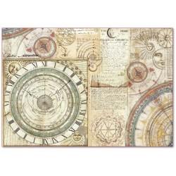 CARTA RISO 48 x 33 ALCHEMY ASTRONOMIA  - STAMPERIA