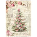 CARTA RISO A4 SWEET CHRISTMAS TREE - STAMPERIA
