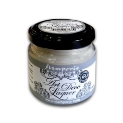 ART DéCO SMALTO ACRILICO LIGHT GREY 100ml - STAMPERIA