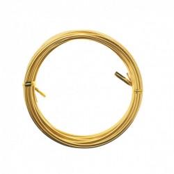 Filo di Alluminio Oro modellabile ø 2 mm - 5mt