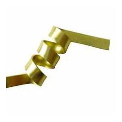 Filo di Alluminio piatto Oro modellabile 1x3.5 mm - 2mt